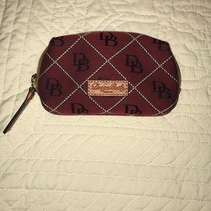 Dooney & Bourke cosmetic pouch